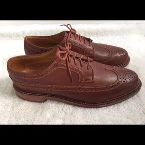 FLORSHEIM Limited Maroon Leather WingTip Sz 9.5